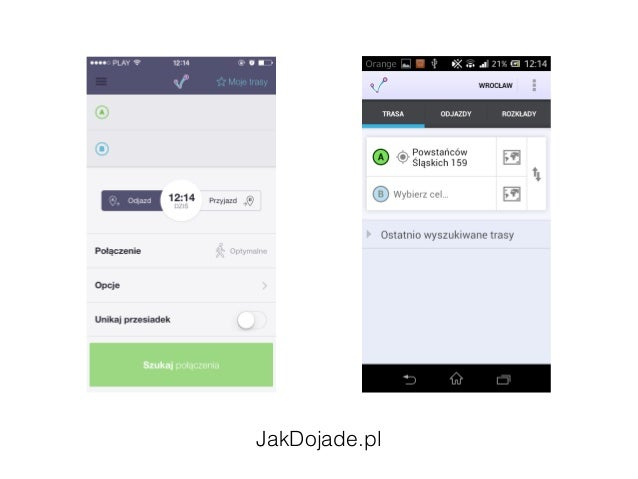 iOS vs Android - examples of UI differences