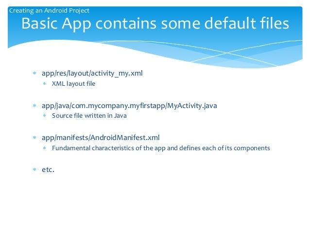 Android App Development 20150402