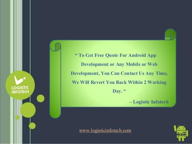 app development quotes Android App Development Company