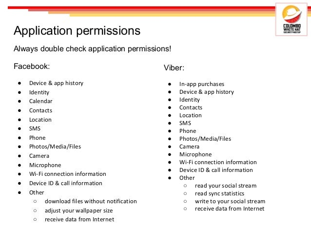Android application security - from consumer and developer