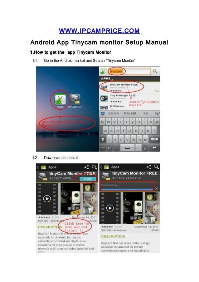 Apexis IP Camera Smartphones Viewing