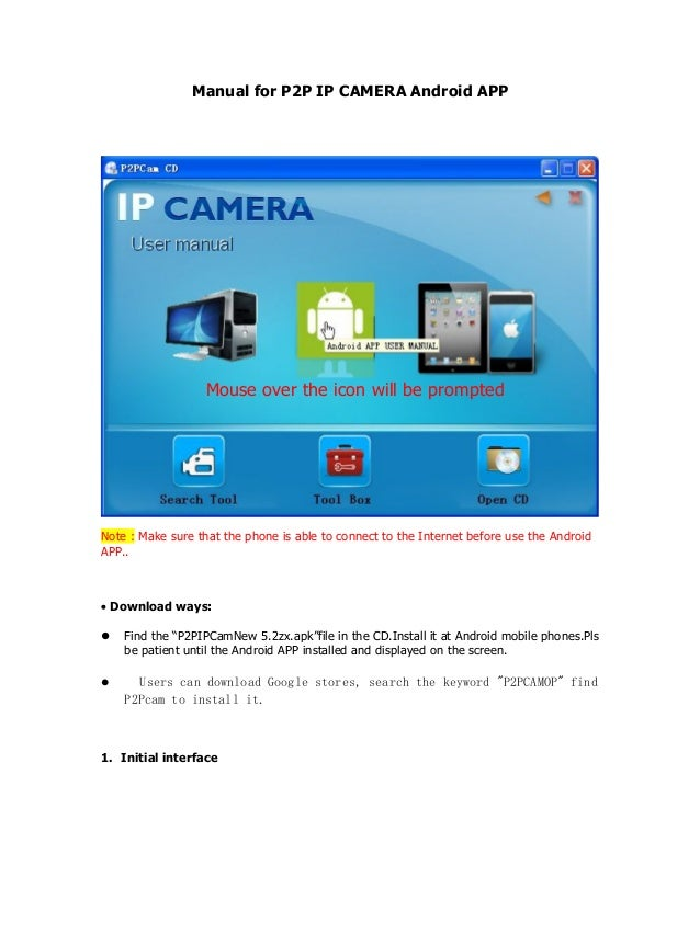 P2p ip cam android app | 5 best home security apps for Android