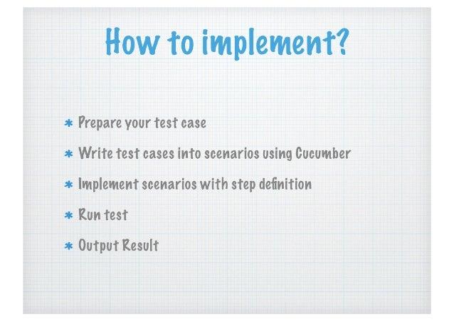 cucumber testing tool tutorial pdf