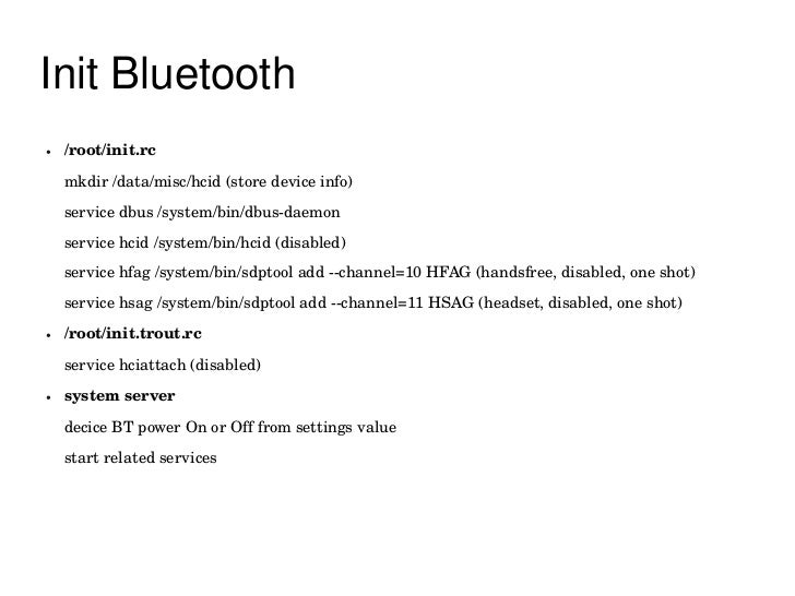 Android Bluetooth Introduction
