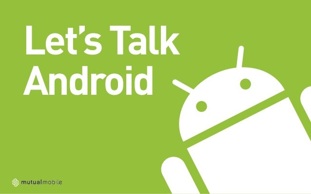 Let's TalkAndroid