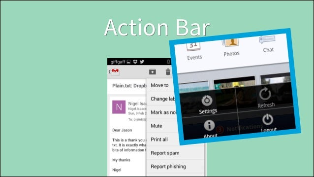 Icons • • •  App Icon Notification Icon Context Menu Icons