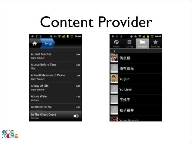 Content Provider