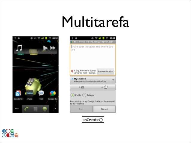Multitarefa  onCreate()