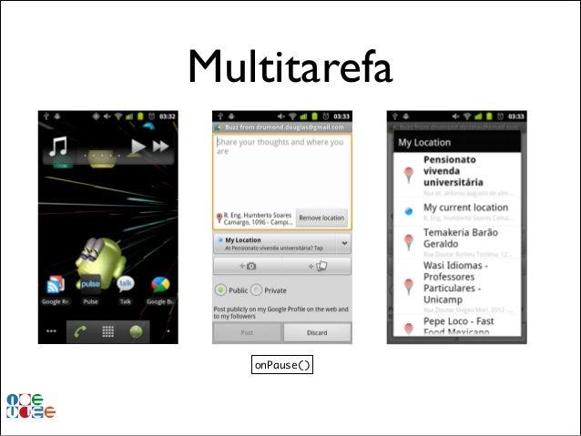 Multitarefa  onPause()