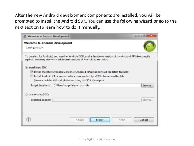 Android Development Tools and Installation
