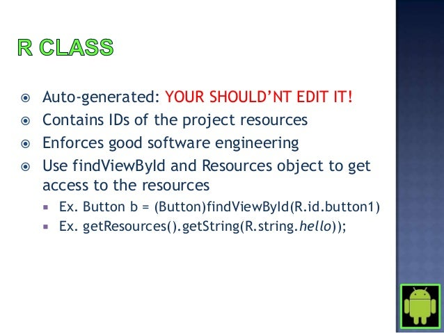    On Eclipse IDE. Go To File >    New > Project > Android    Project   See image at the side for the    prompt that app...