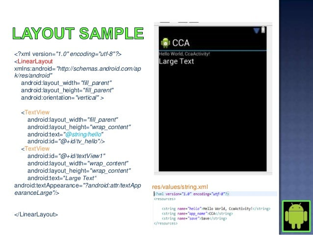    Under SRC on your project       public class SampleProjectActivity extends Activity implements OnClickListener{      ...