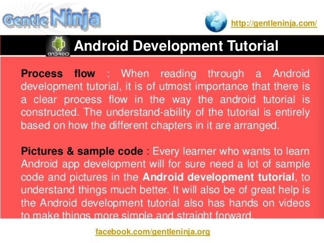 home, use android development tutorial for beginners ppt note, changes