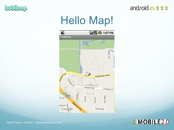 Google Maps in Android