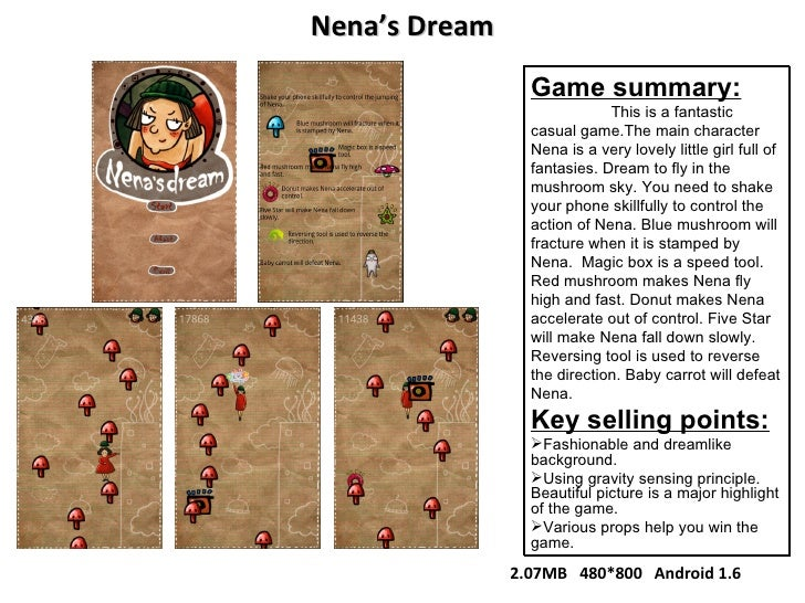 <ul><li>Game summary: </li></ul><ul><li>This is a fantastic casual game.The main character Nena is a very lovely little gi...