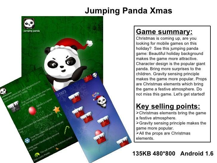<ul><li>Game summary: </li></ul><ul><li>Christmas is coming up, are you looking for mobile games on this holiday?  See thi...