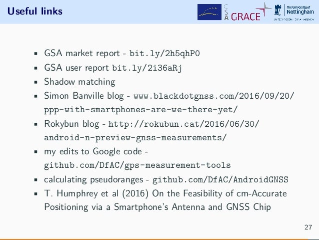 android gnss in nutshell