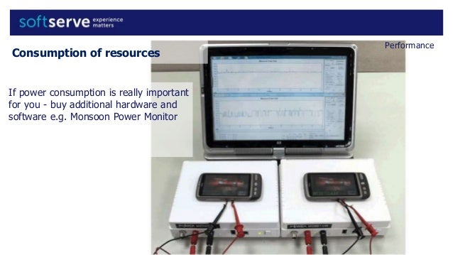 Monsoon Power Monitor : Android mobile application testing specific functional