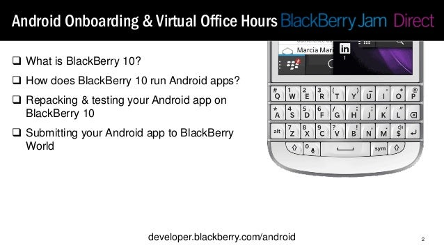 Android to BB in 3 minutes