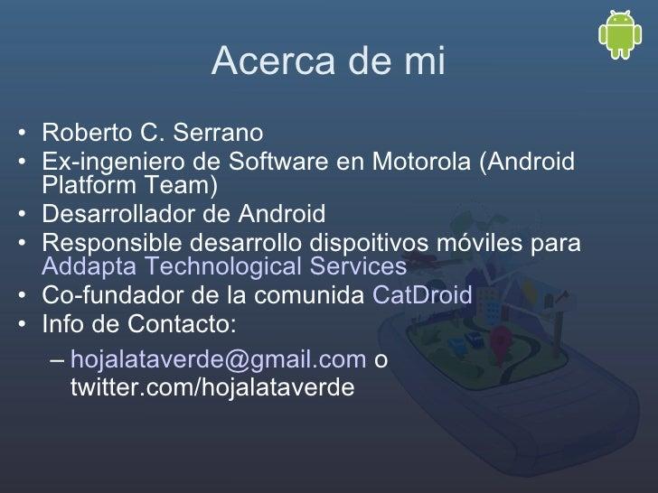 Píldora 1: Android intro Slide 2