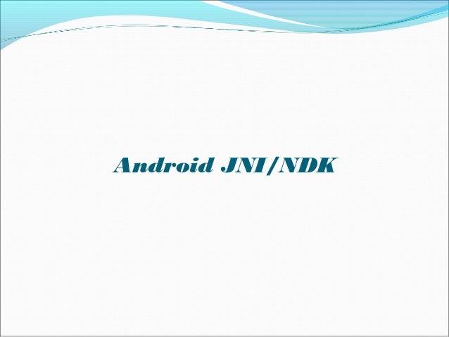 Android JNI/NDK