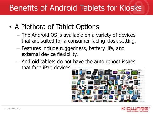 Android Kiosk Presentation - Kiosk App for Android