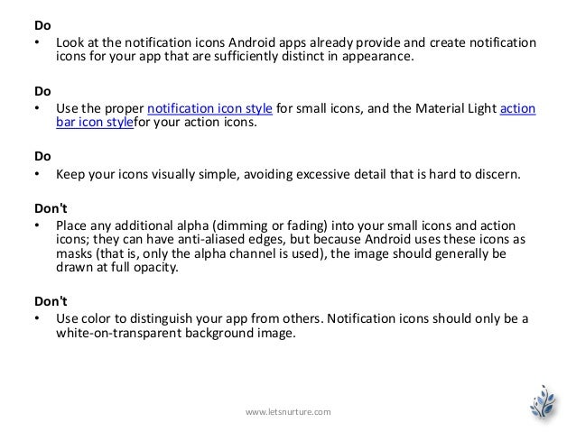Android L Notifications