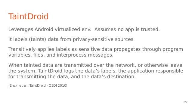 Android malware presentation