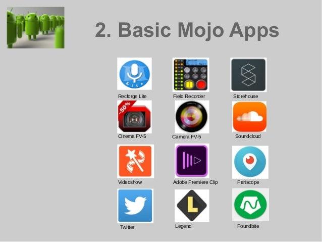 Bernhard Lill's Android Mojo Workshop @MojoconIRL