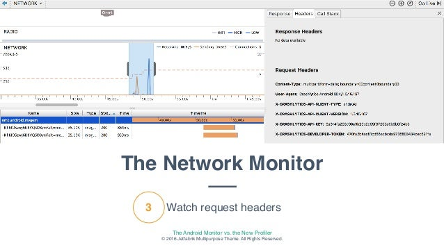 Android monitor vs android profiler