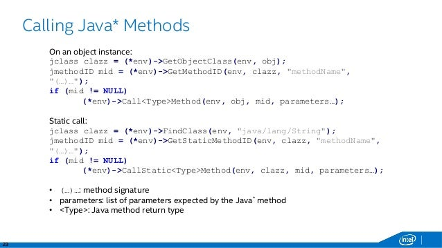 Working with Items: Java