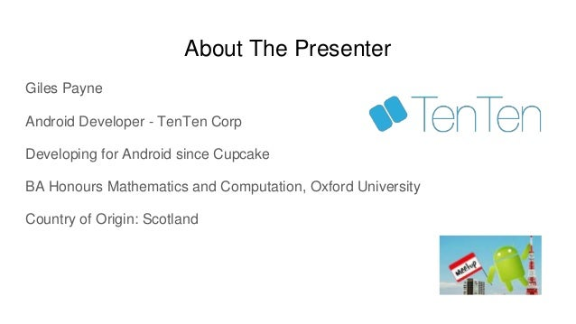 Android NDK Intro Slide 2