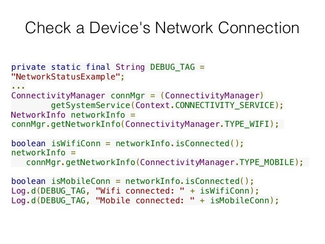 Android Networking
