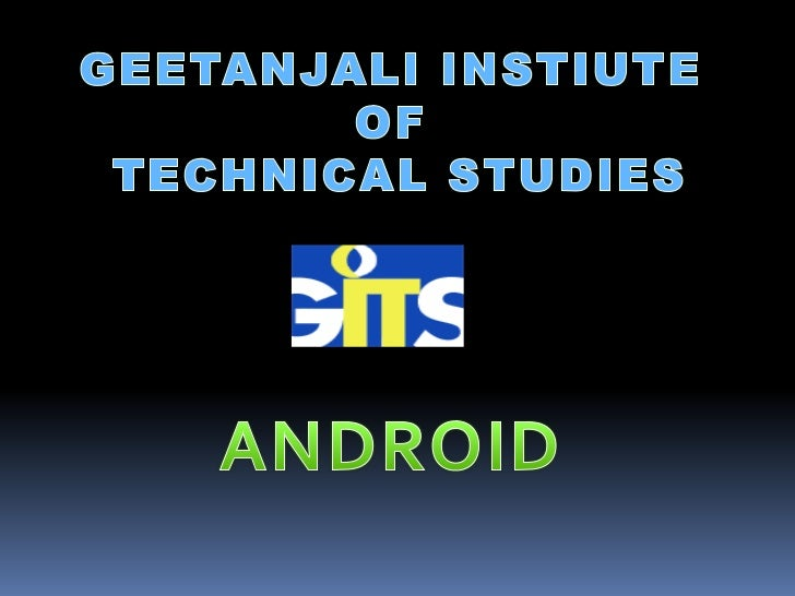 Mobile Application Development    (MAD)Intro to Android platformPlatform ArchitectureApplication Building BlocksDevel...