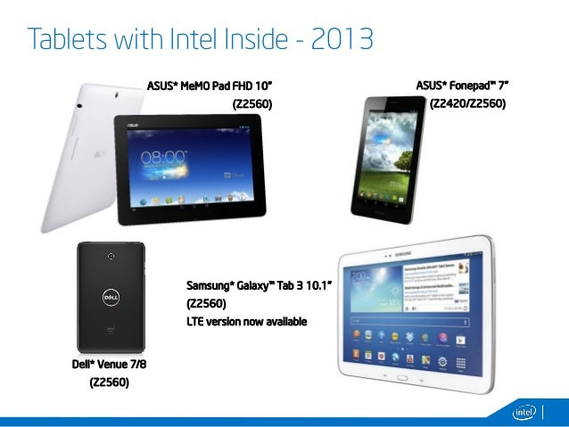 Android on IA devices and Intel Tools