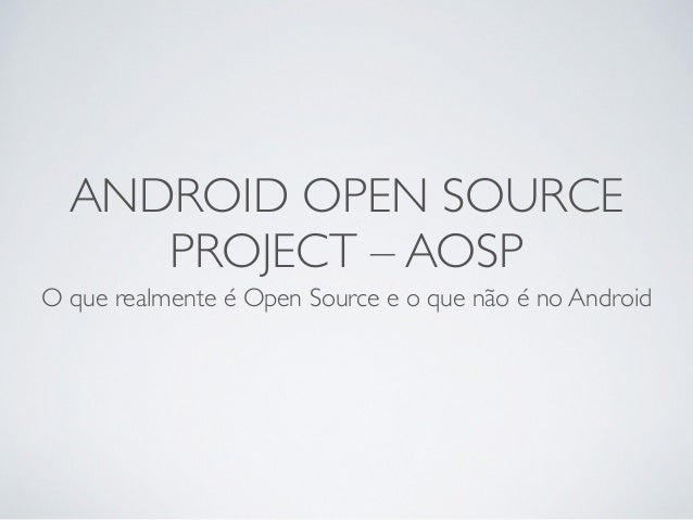 android open source project Toggle navigation dropsource help center  importing source code into android studio  open android studio and select open an existing android studio project or.