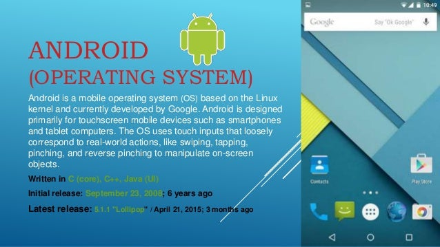 what is the latest android operating system android os version history 21789