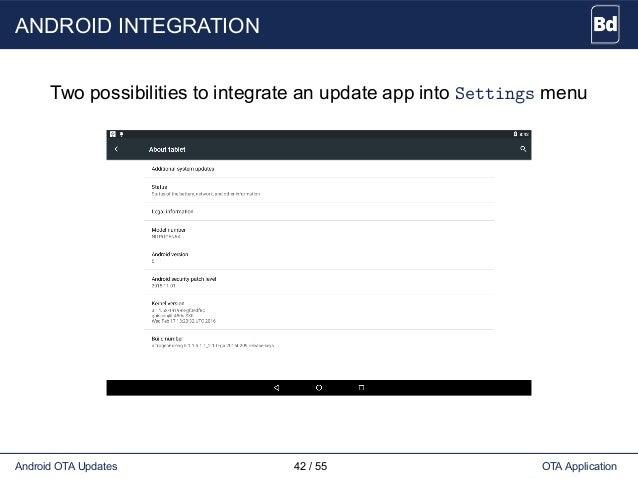 Android Ota Update