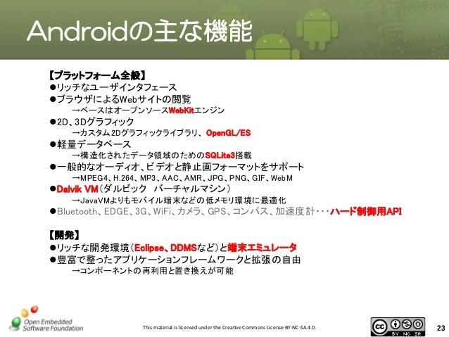 Android組み込み開発テキスト pandaboard es編