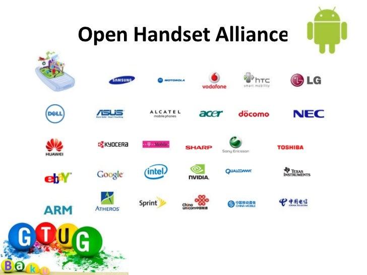 Open Handset Alliance - JapaneseClass.jp