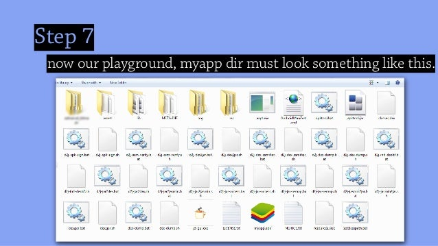 Step 7 now our playground, myapp dir must look something like this.