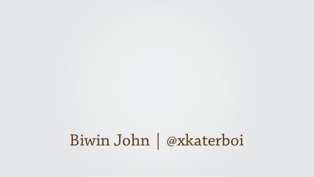 Biwin John | @xkaterboi