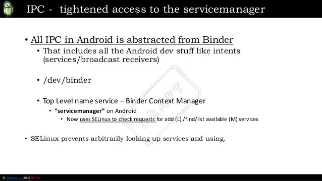 Android Security Presentation @ JUG (NCR) 02-22-2017