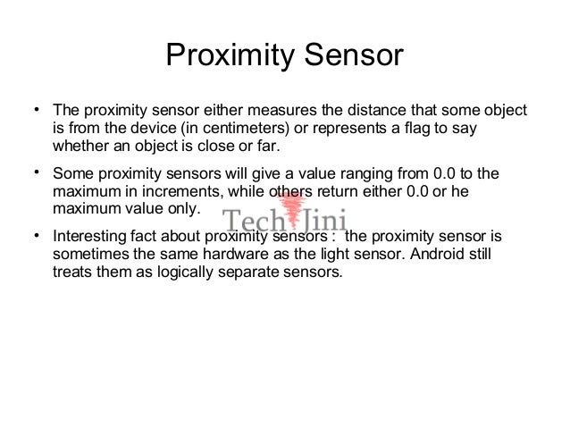 Android sensors