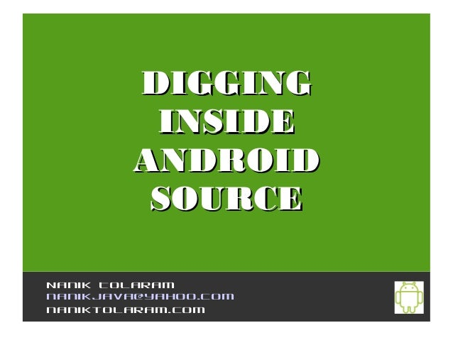how to get source code of android