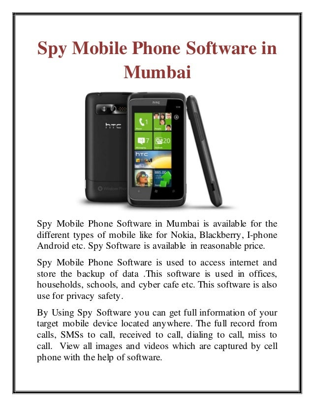 best phone spy software for nokia Lumia