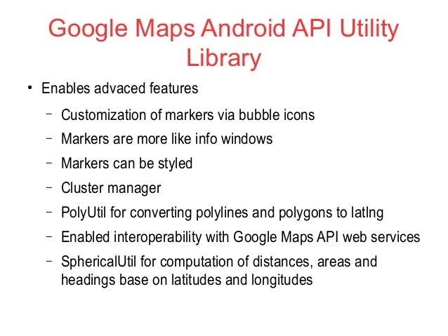 Infinum Android Talks #02 - Android Maps Extensions