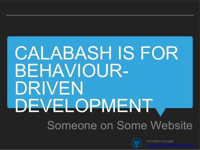 Android testing calabash Slide 3