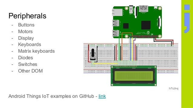 Android things introduction - Development for IoT