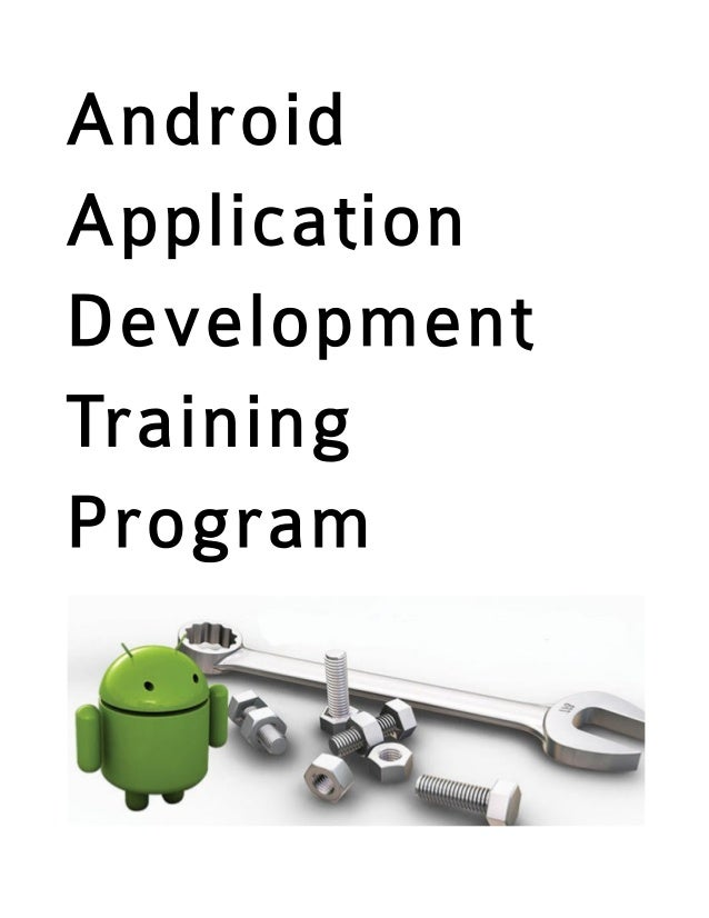 AndroidApplicationDevelopmentTrainingProgram